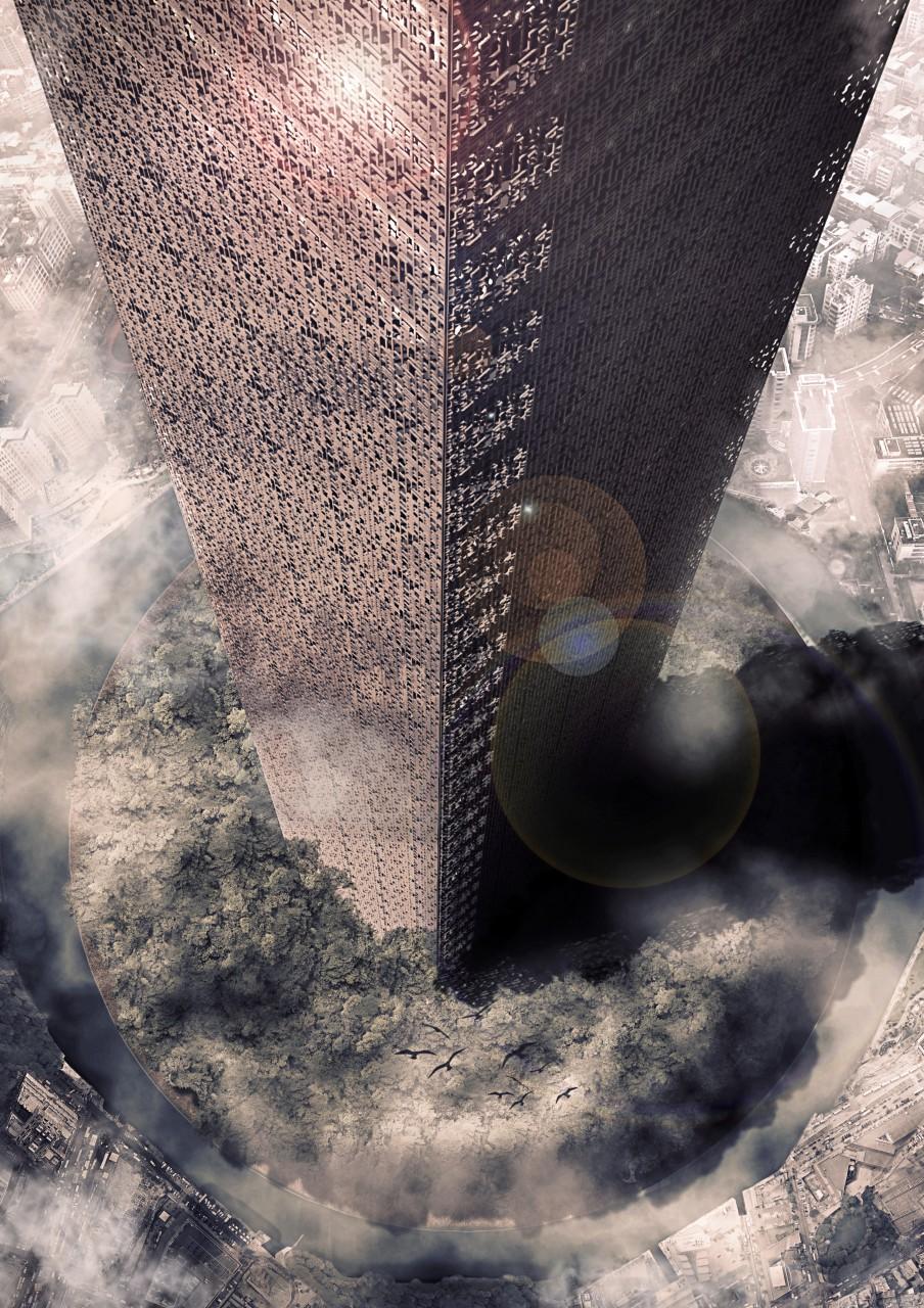 Torre master lente corretta